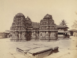 General view of the Kedareshvara Temple, Balagamve [Balligave]